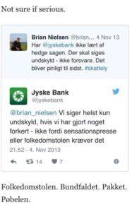 Jyske bank Nykredit Lund Elmer Sandager